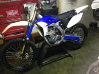 Very clean bike, runs great, new top end, pro-x valves