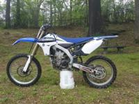Available is a unmolested 2012 Yamaha yz450f 4-stroke