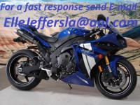 2012 Yamaha YZF-R slotted YZR-M1-style top yoke and a