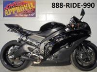 2012 Yamaha R6 Crotch Rocket for sale, Raven Edition