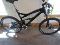 Up for grabs is a:.  2012 YETI SB66 MOUNTAIN BIKE (XL)