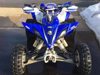 Up for trade is my 2012 yfz 450r. Much less than FIFTY