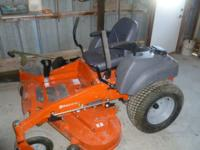 For Sale: 2012 zero turn Husqvarna lawn mower #MZ5225ZT