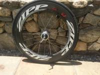 2012 Zipp Firecrest 808/404 CARBON CLINCHER REAR WHEEL.