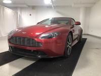 Looking for a 2012 Aston Martin V8 Vantage? This is it.