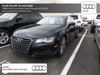 Spotless One-Owner! Isn't it time for an Audi?! Are you