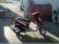 I'm trying to sell my Baja scooter. It's pink!!! It