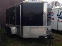 2012 Bendron Titan BZ712TA ENCLOSED CARGO TRAILER