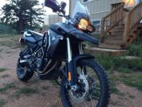 Offering my 2012 BMW F 800 GS. It's in perfect