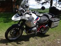 2012 BMW 1200 GS Rallye Edition,1399 miles. C/W BMW