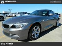 This 2012 BMW Z4 sDrive28i is factory Certified Pre