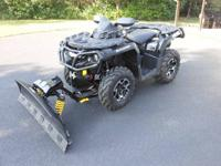 2012 Can Am ATV Outlander XT 1000cc Bombardier very