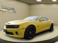 This 2012 Chevrolet Camaro has actually been treated