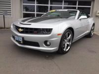 This 2012 Chevrolet Camaro 2SS is offered to you for