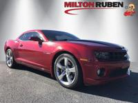 This 2012 Chevrolet Camaro 2dr 2dr Coupe 1SS features a