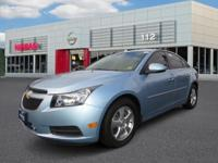 2012 CHEVROLET CRUZE 4DSD LT W/1LT Our Location is: