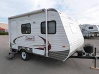 Used 2012 Coleman Coleman  14FD Travel Trailer   Front