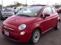 Exterior Color: red, Body: Convertible, Engine: 1.4L I4