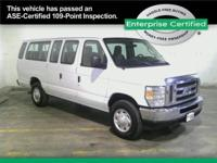 Steel Tires, 15-Passenger Seats, Dual Air Bags, CD