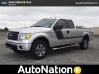 2012 FORD F150 SUPERCAB. STX EDITION. 4 WHEEL DRIVE.