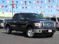This 2012 Ford F-150 XLT Truck features a 5.0L V8 FFV