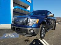 Dark Blue Pearl Metallic 2012 Ford F-150 XLT 4WD