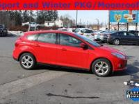 2012 Ford FocusSE Race Red Charcoal Black, ONE OWNER,