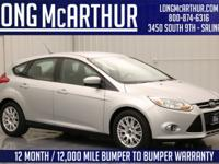 AU5006 2012 Ford Focus Hatchback SE 2.0 liter 4