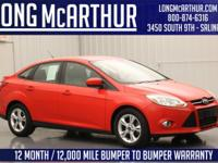 AU5031 2012 Ford Focus Sedan SE 2.0 liter 4 cylinder
