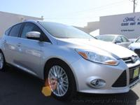This 2012 Ford Focus 4dr SEL Hatchback 4D features a