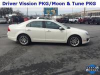 2012 Ford FusionSEL White Suede Medium Light Stone, ONE