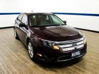 This outstanding example of a 2012 Ford Fusion SE is