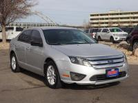 Ingot Silver Metallic 2012 Ford Fusion S FWD 6-Speed