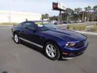 (904) 517-3479 This 2012 Ford Mustang V6 is offered to