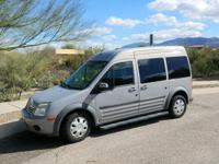 1 Owner! Passenger/Cargo Van highest XLT. Perfect for