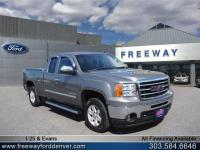 Quicksilver Metallic 2012 GMC Sierra 1500 SLE RWD