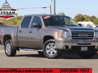 Towing Package, Parking Sensors, and 2012 GMC Sierra