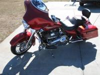 2012 Harley Davidson FLHX Street Glide. Comes with