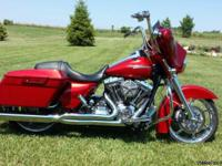 2012 Harley Davidson Streetglide with Screaming Eagle