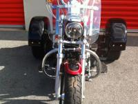 2012 Harley Davidson XL 1200 Sportster, This bike has