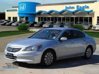 Accord LX 2.4, Honda Certified, 4D Sedan, Silver, and