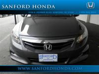 Accord EX-L 3.5 Honda Certified 2D Coupe Gray and