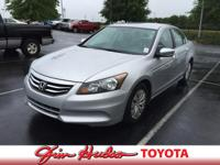 Options:  2012 Honda Accord Sdn Lx Is Proudly Offered