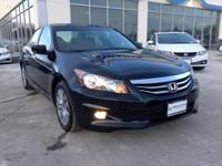 Drive in style with this Honda Accord EX-L NAVI. This