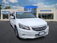Honda Certified, One Owner Accord EX V6. This car