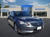 Honda Certified, One Owner Accord LX-P. This car looks,