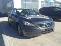 Honda Certified, One Owner Accord SE. This automobile