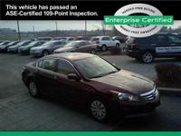 2012 HONDA ACCORD SEDAN 4 DOOR Our Location is: Sutliff