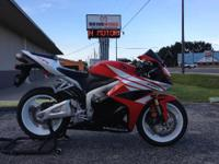 2012 Honda CBR600RR Only 1909 Miles! Middleweight