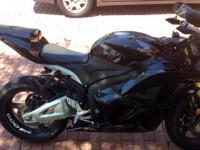 2012 Honda CBR600RR. 2670 miles- Black- 599cc- Sounds